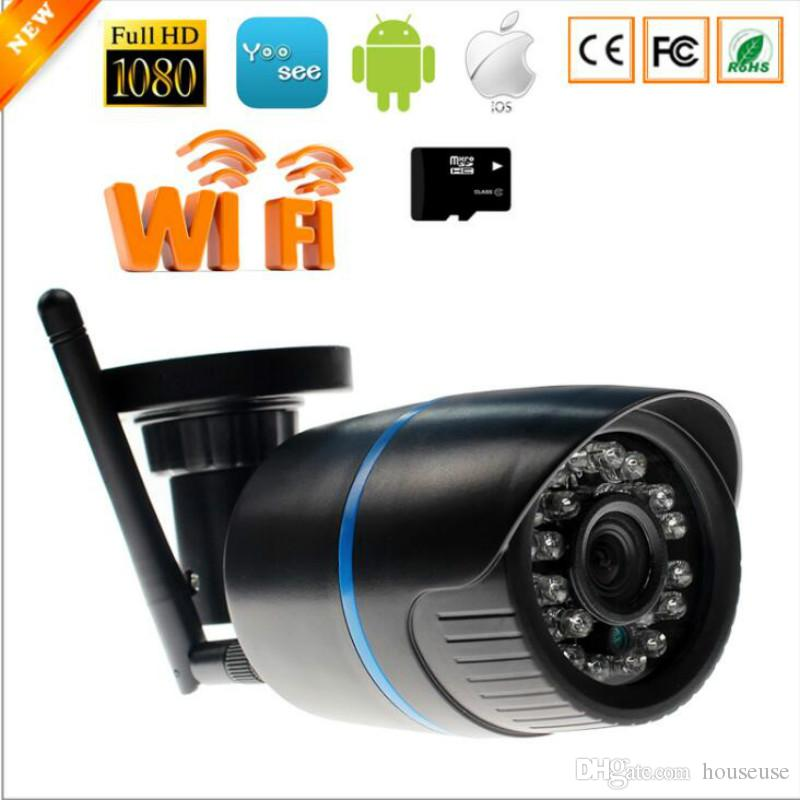 Surveillance Cameras 1mp Ip Camera 720p Wifi Outdoor Security Camera Wireless Hd Cctv Mini Bullet Camera Onvif Surveillance Ip Cam System P2p App