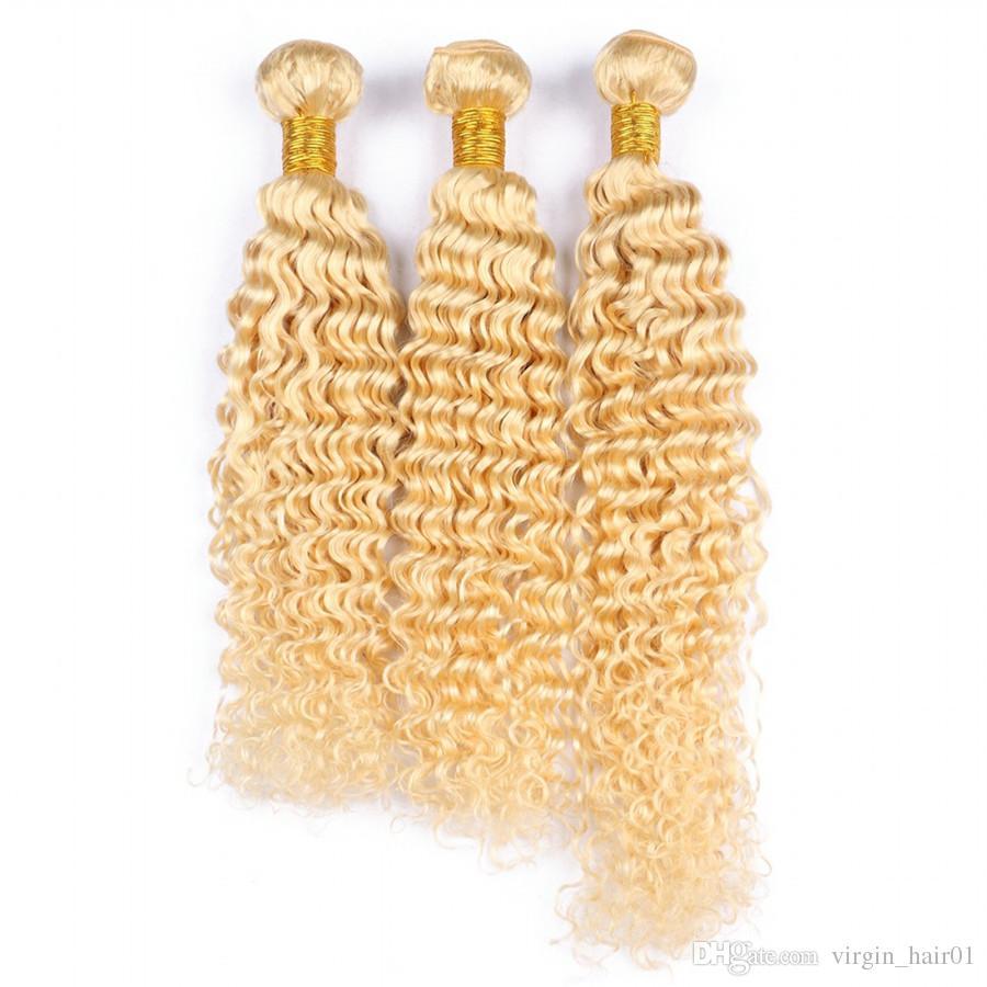 613 человеческих волос пучки с кружева фронтальная бразильские Девы Непроцесс человеческих волос 3 пучки с уха до уха кружева фронтальная 4 шт./лот