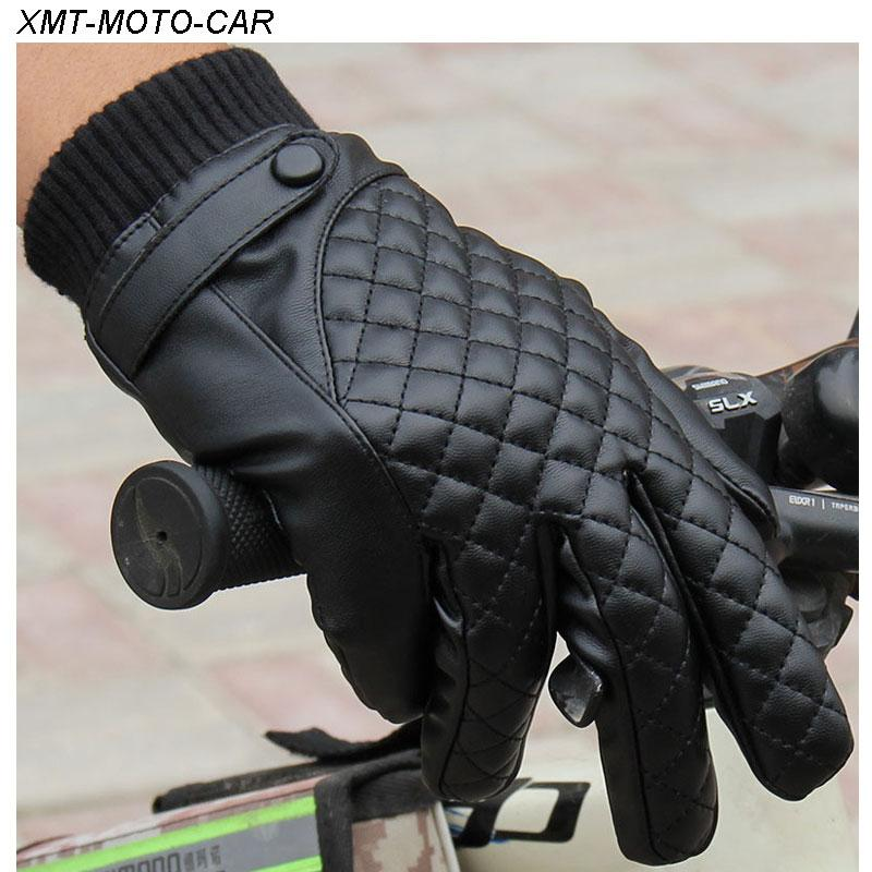 Winter Motorcycle Gloves >> Wholesale Xmt Moto Car Winter Motorcycle Gloves Leather Motorbike E