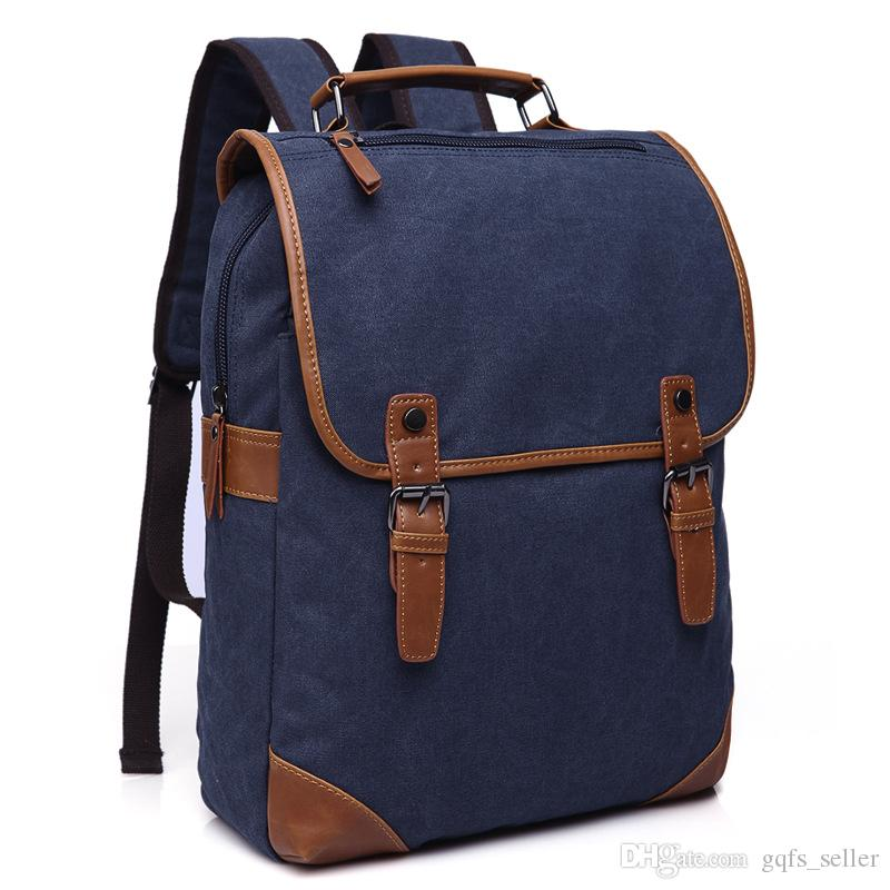 Famous Designer Brand Handbags Backpacks Canvas Bag Men Woman Totes Ladies  Shoulder Bags Casual Outdoor Travel Korean Laptop Bags Backpack Online with  ... 81042bf82c