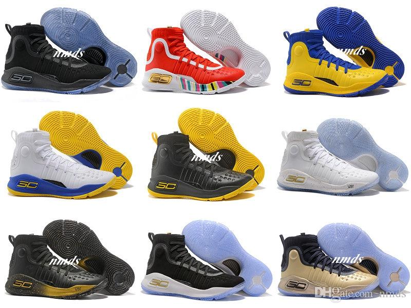 2017 New Stephen Curry 4 Basketball Shoes For Men Chicken ...