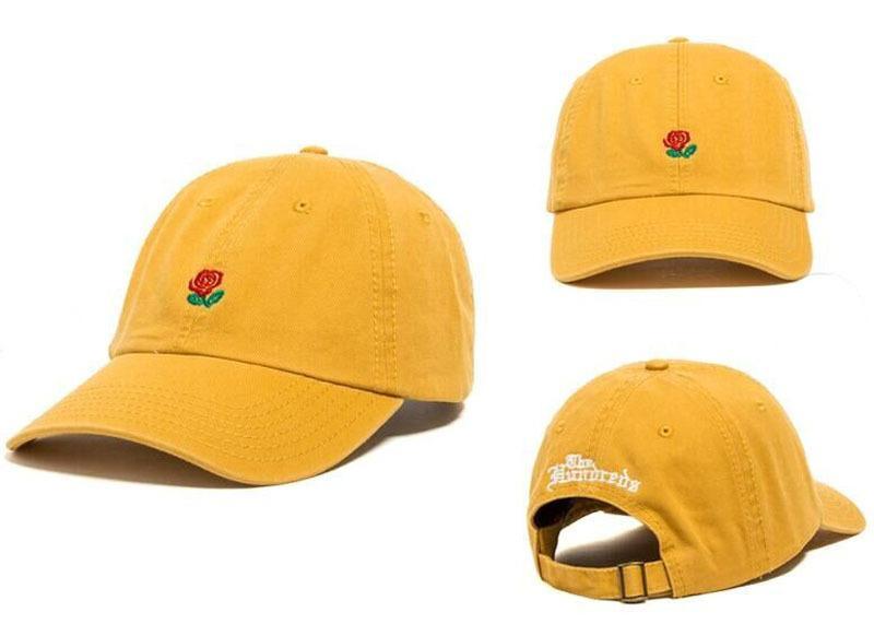 Popular Rare the Pop Cap Brand New The Hundreds Rose Cap Men Women  Adjustable 6 Panel Golf Polo Snapback Baseball Hats Black Skiing Beanie Caps  Red Vineyard ... 12352272c73