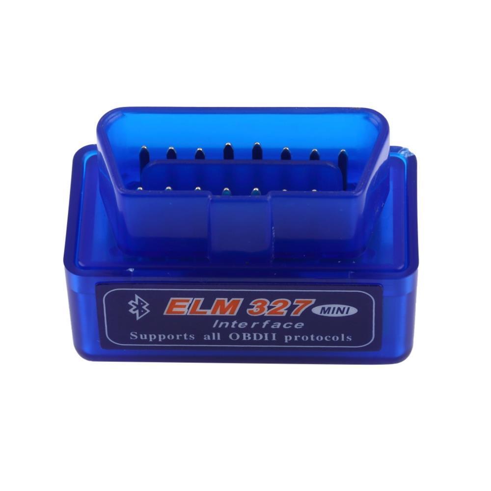 자동차 진단 스캐너 자동차 자동차 진단 스캐너 미니 V2.1 ELM327 OBD2 ELM 327 블루투스 인터페이스 자동 자동차 스캐너