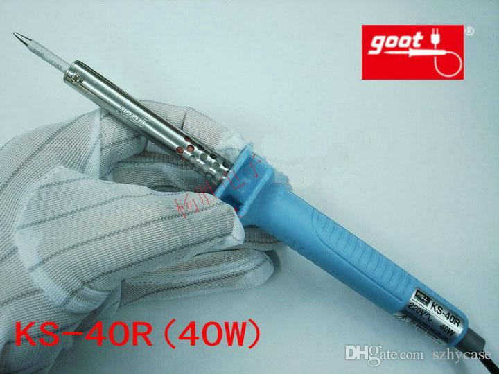 Japan GOOT Marke Reparatur Werkzeuge KS Serial Rapid Thermal Durable Elektrische Lötkolben Eingang 220 V Leistung Optional 30 Watt, 40 Watt, 60 Watt, 80 Watt