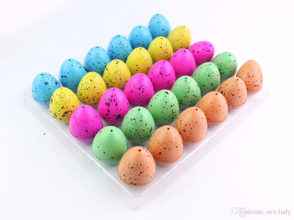 Novelty Gag Toys Children Toys Cute Magic Hatching Growing Dinosaur Eggs For Kids Educational Toys Christmas Gifts