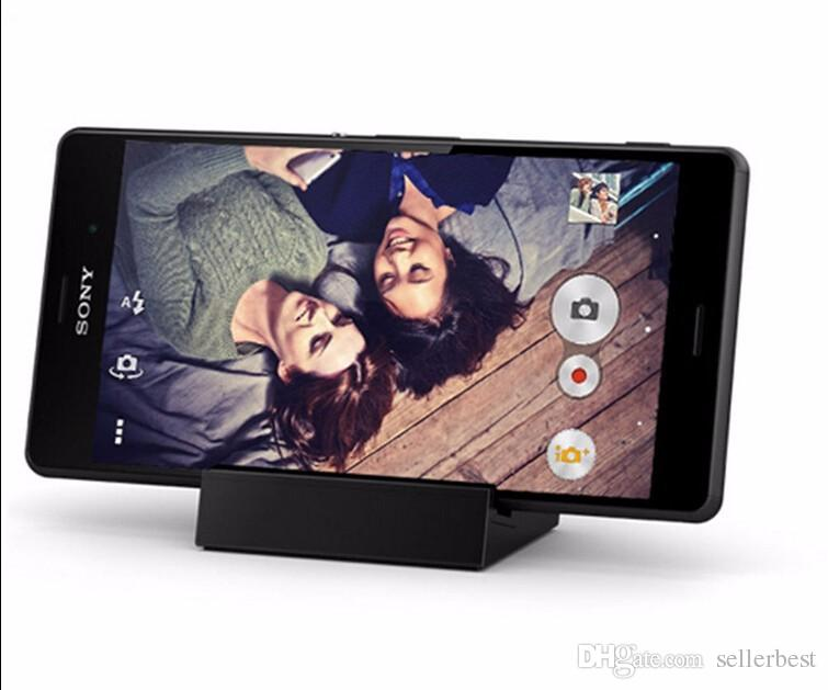 Dock-Station für Sony Z3 Mini DK48 magnetischen Desktop für Sony Xperia Z3 mit Kabel Compact M55W D5833 D5803