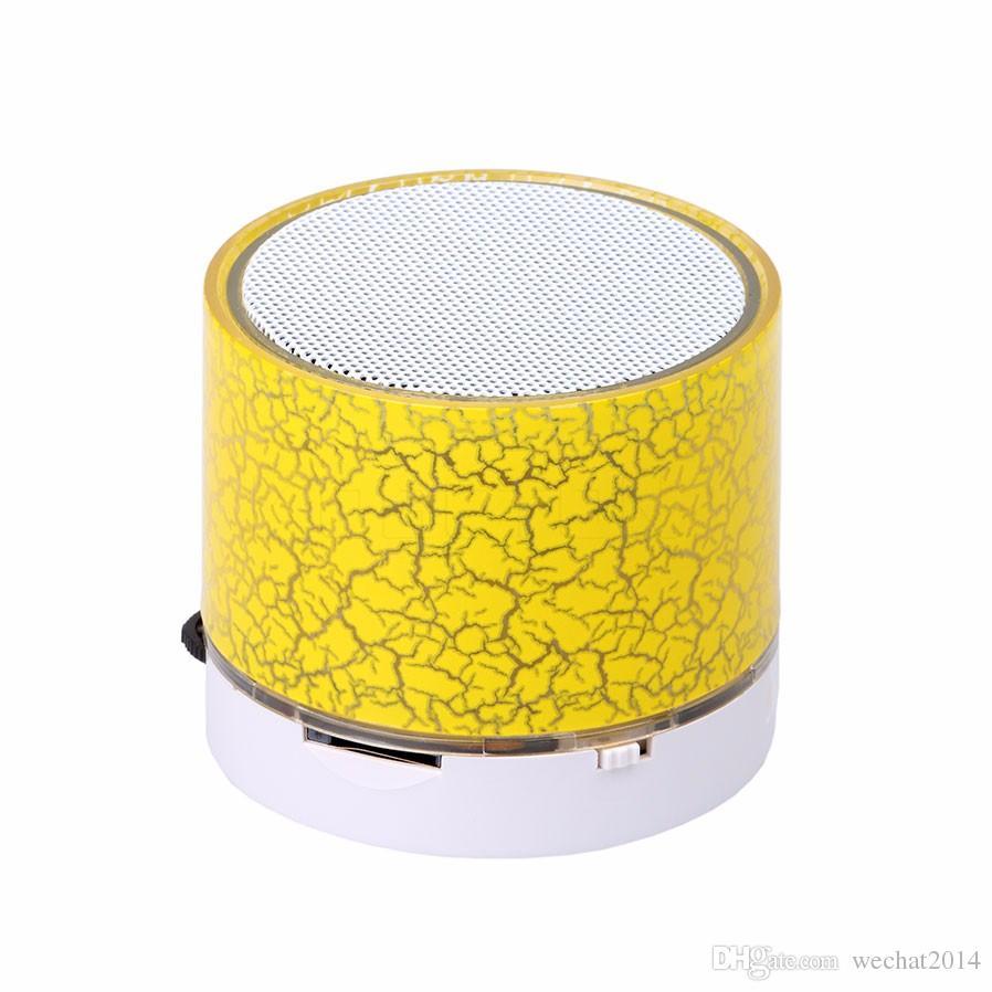 Sem Fio Mini Portátil LEVOU Bluetooth Speaker Handsfree Suporte Rádio FM TF Cartão Inteligente de ALTA FIDELIDADE de Subwoofer Estéreo Player para Smartphone
