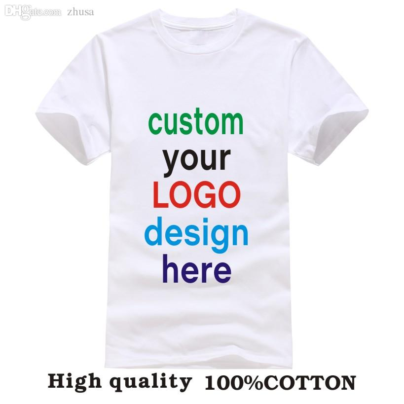 Wholesale custom printed personalized t shirts designer for T shirt printing in bulk