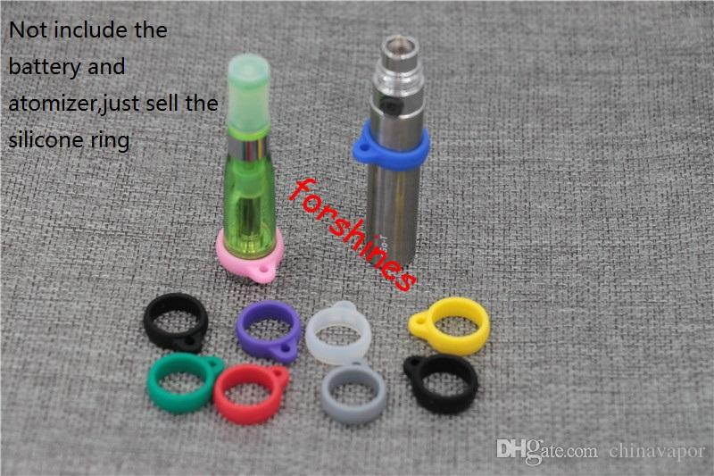 epacket to USA ego decorative ring black e cigarette new Silicone silica gel ego mt4 evod mt3 atomizer rubber rings