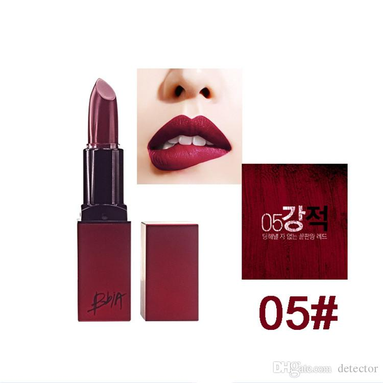 Hot sale New Arrival BBIA Last Lipstick Velvet Matte Lip Stick Brand Batom Rouge Waterproof Long lasting Maquiagem Korea Lips Makeup