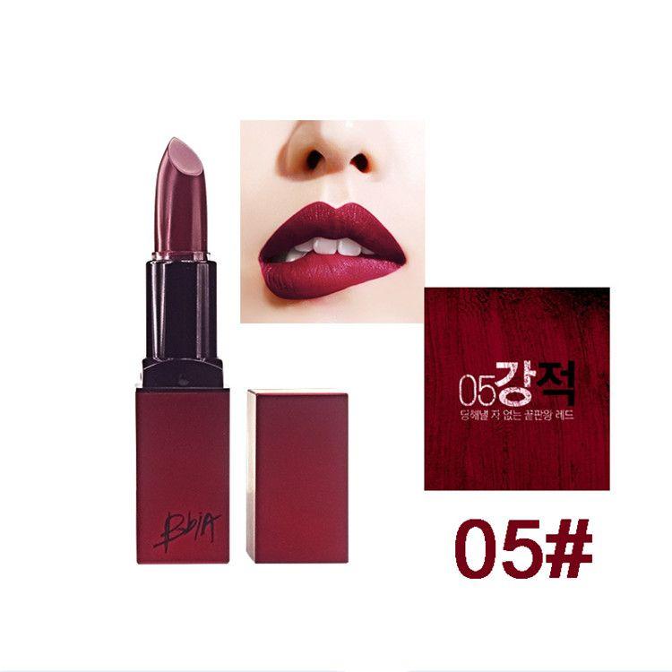 New Arrival BBIA Last Lipstick Velvet Matte Lip Stick Brand Batom Rouge Waterproof Long lasting Maquiagem Korea Lips Makeup free DHL