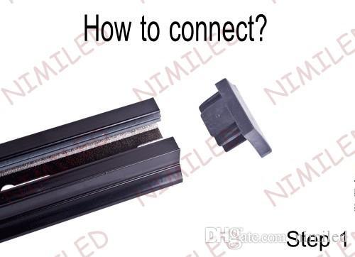 Nimi963-1 светодиодная лампа 1M рельсовое освещение / прожекторы универсальная алюминиевая одежда двухпроводная медная проводящая Рельсовая дорожка или разъем трека