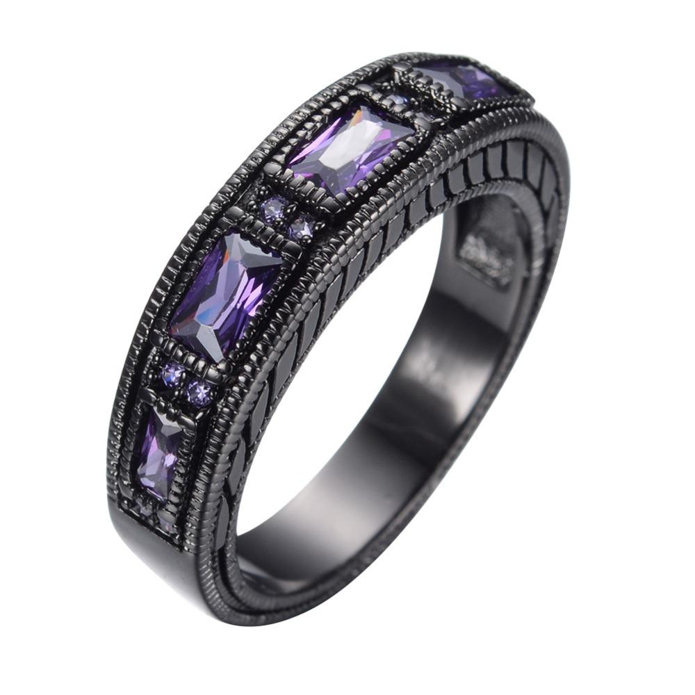 john with purplesilver rings classic gallery hardy batu product jewelry ring normal silver purple braided chain lyst sterling amethyst medium