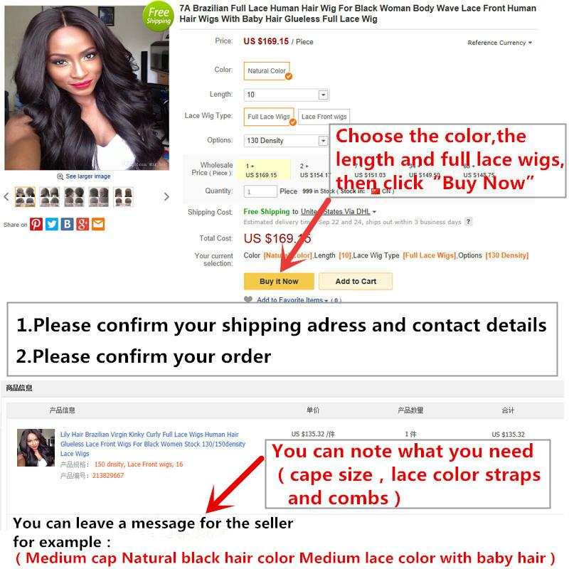 150 Density Glueless Lace Front Human Hair Wigs With Baby Hair 8-26 Inch Body Wave Pre Plucked Brazilian Remy Hair Lace Wigs