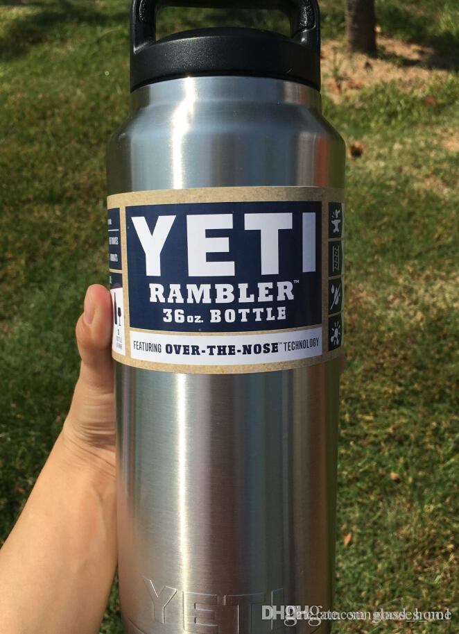 36 Oz Yeti Cup Yeti Cooler Stainless Steel Bottle Insulated Leak