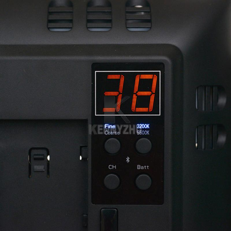 Studio illuminazione Kit 3 pezzi Yongnuo YN900 3200-5500K CRI 95+ 900 LED Video Light + Adattatore di alimentazione + Telecomando + 2m Stand + Boom Arm + Bag
