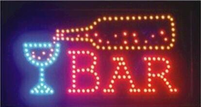 limited sale customed low power 10X19 inch LED Bar open sign /Bar club ,drink club ,store LED Sign led boards wholesale