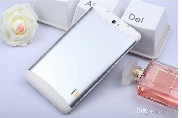 7-Zoll-Dual-Core-3G-Tablet-PC-Unterstützung 2G 3G-SIM-Kartensteckplatz-Telefonanruf GPS WiFi FM Bluetooth