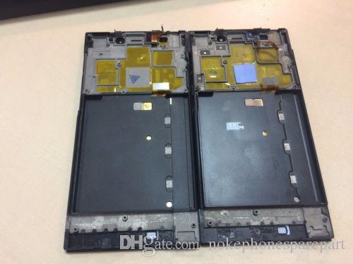 Tam LCD ekran Dokunmatik ekran + Çerçeve montajı için Xiaomi Mi3 Black