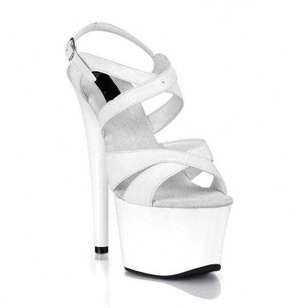Bombas de las mujeres personalizadas Platform Party Moda Zapatos de tacón alto Bombas de tacones altos Sexy Party Show Shoes Plus Size US 4-12 D0122
