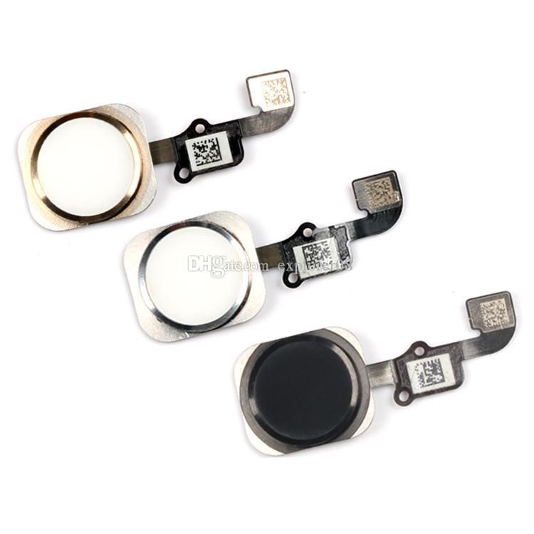 100% Yeni iPhone 5 S 6 ve iPhone 6 Artı Ana Düğme tr düğmesi Flex Kablo Meclisi Yedek parça ile 1 adet Ücretsiz Kargo