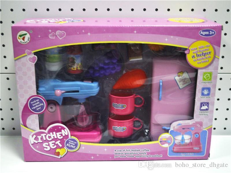 Großhandel Küche Spielzeug Pretend Spielen Kunststoff Spielen ...