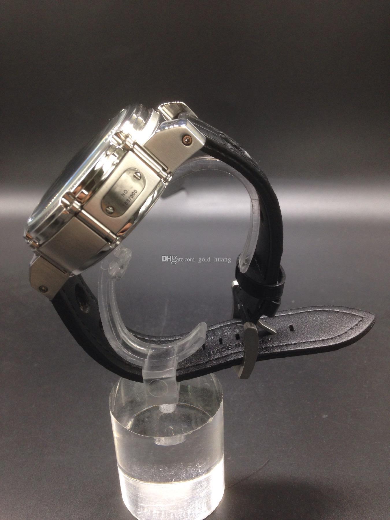 Luxus Limited Flyback Edition Herrenuhr Sport Quarz Chronograph Saphirglas hohe Qualität Edelstahl Uhren