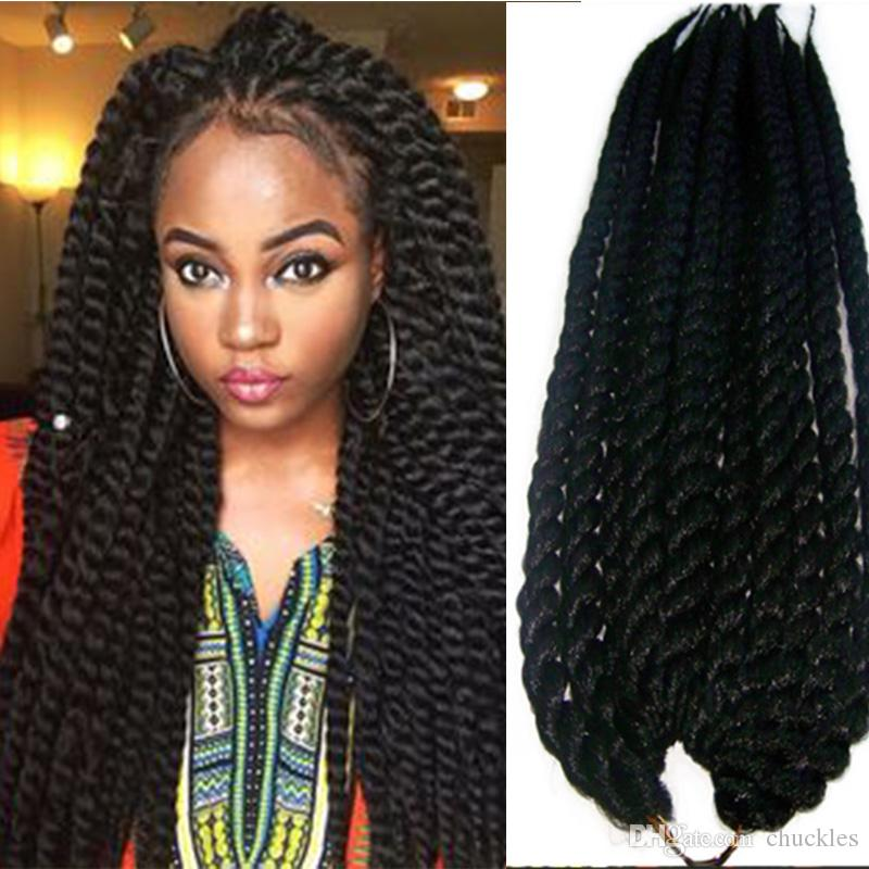 Hot Sell Havana Mambo Twist Crochet Braids Hair 24 Inch Senegalese