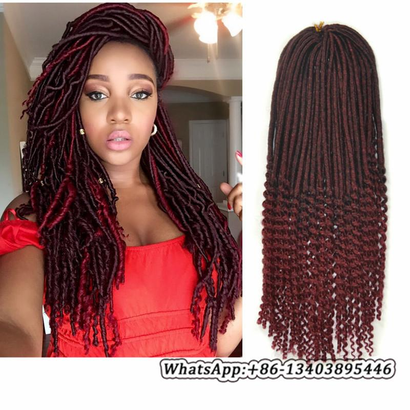 60 Inch Goddess Faux Locs Curly Crochet Hair 60 Roots Dreadlocs Amazing Braid Pattern For Crochet Faux Locs