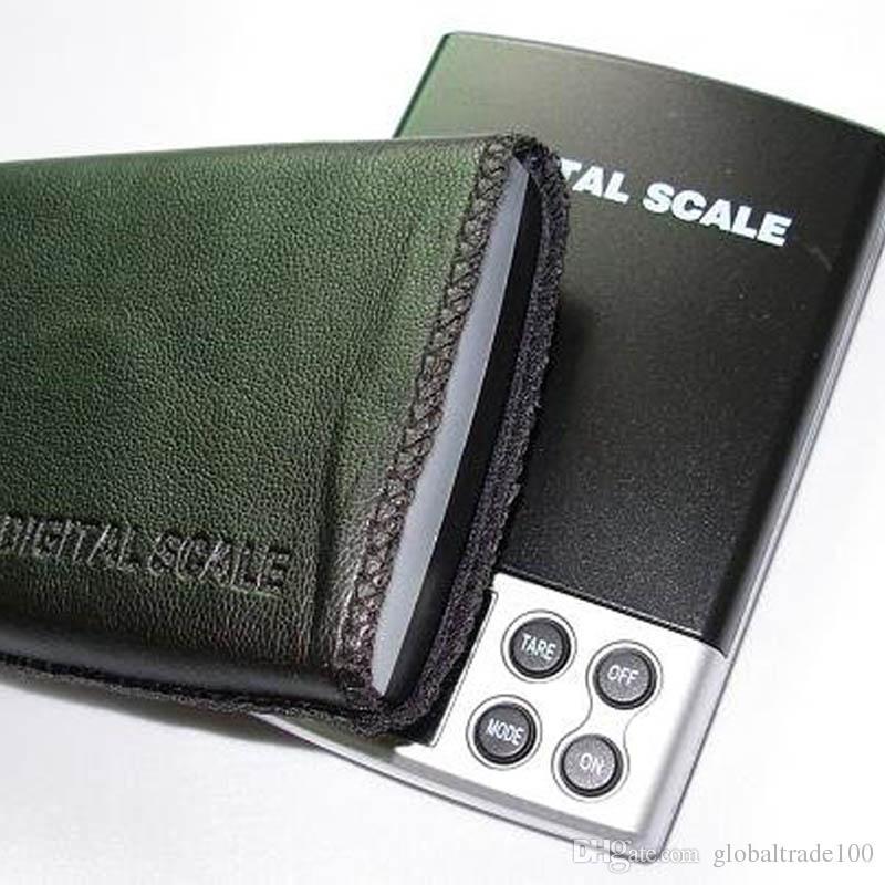 Mini Digitale weegschalen Pocket Weegsaldo Gouden Sieraden Schaal 0.1G - 1000G / 0.1G - 500G + Black Case Free DHL