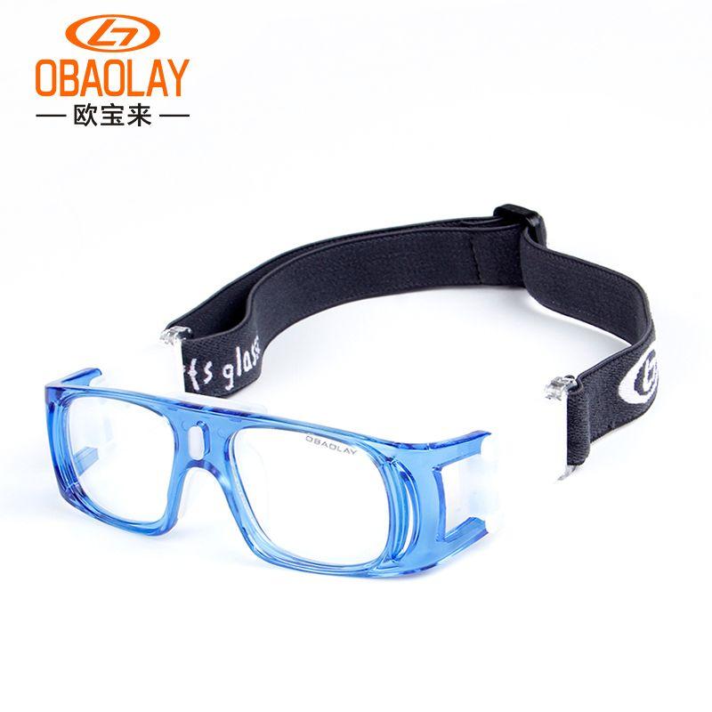 db4d048f6489b Compre Crianças Esportes Óculos Crianças Óculos De Proteção De Segurança Do  Olho Óculos De Basquete Futebol Óculos De Olho Óptico Da Bicicleta Ciclismo  ...