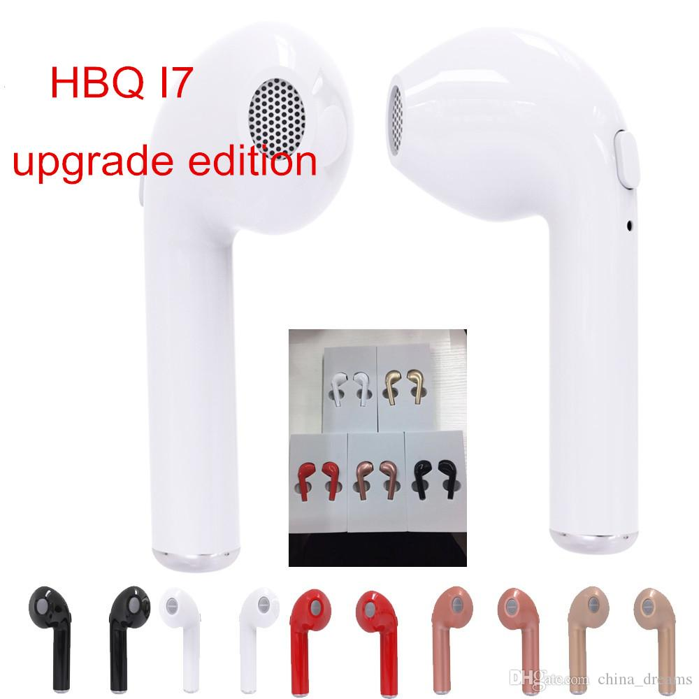 9c4c7a19750 HBQ I7 TWS Wireless Bluetooth Headphone V4.2 Portable Mini Headset Business  Office Binaural Earphone Universal Upgrade Edition Best Cell Phone Earbuds  Best ...