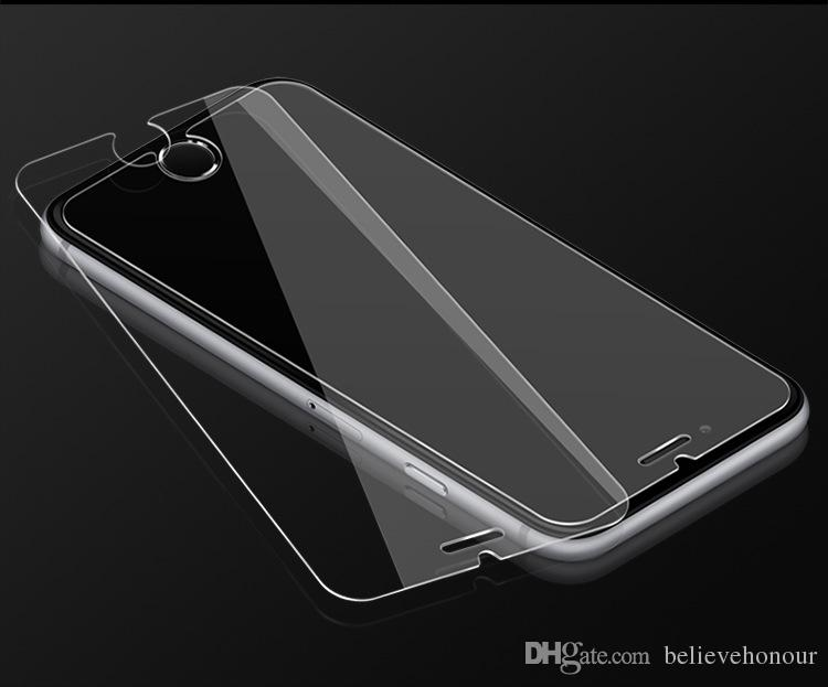 Mobile phones 9H temper glass screen Wear and scratch resistance Explosion proof glass film for iphone X 8 8 plus 7 6 6s 5 5c Mobile phones