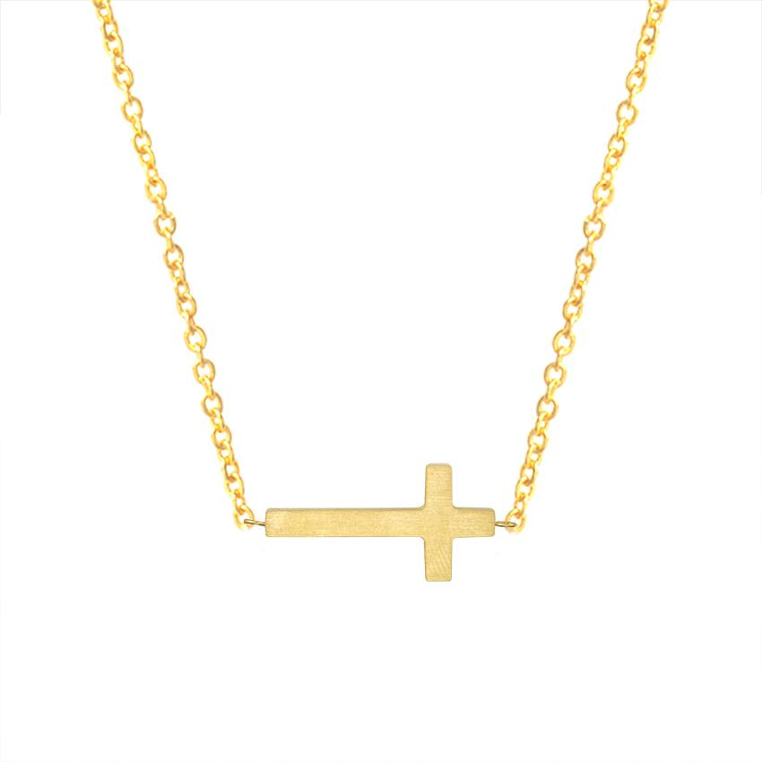 6228f0a2b879 Compre Crucifijo Jesus Christian Jewelry Colgante Cruz Colgante De Oro  Color Prayer Cristo Hombre Mujer Niña Cadena De Acero Inoxidable Para Niños  A  6.48 ...