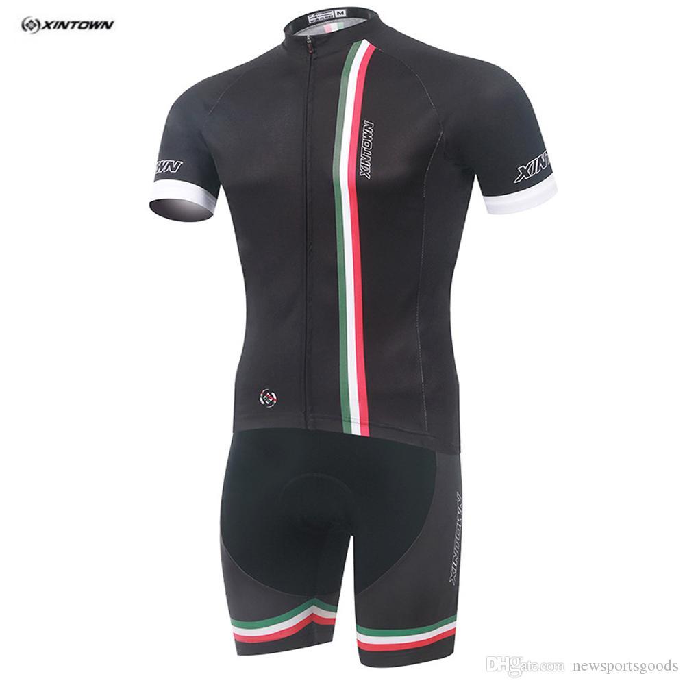2016 XINTOWN Summer Short Sleeve Cycling Jersey Shorts Set MTB Bike ... 31f5ad06f