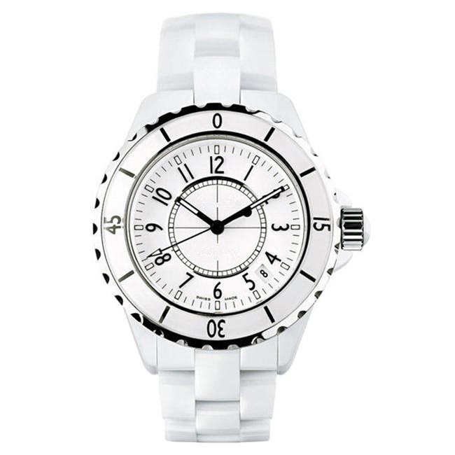 Luxury Brand Lady White/Black Ceramic Watches High Quality Quartz Wristwatches For Women Fashion Exquisite Women Watches