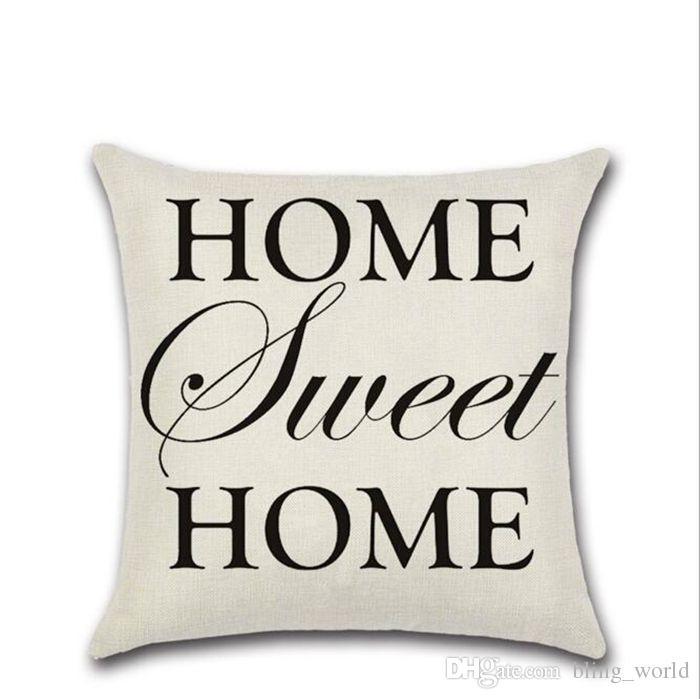 Carta decorativa funda de almohada geométrica Dot Wave funda de cojín cruzado para sofá asiento de Navidad decoración para el hogar negro blanco YW67