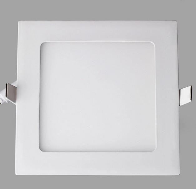 Dimmable del pannello LED SMD 2835 3W 9W 12W 15W 18W 21W 25W 110-240V Led soffitto incasso giù la lampada da incasso SMD2835 + driver