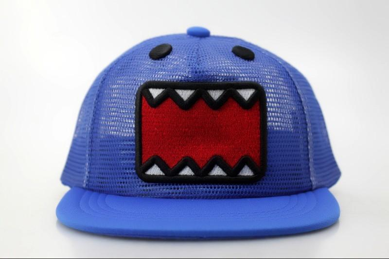brand domo hats and caps for kids cute cartoon mesh. Black Bedroom Furniture Sets. Home Design Ideas