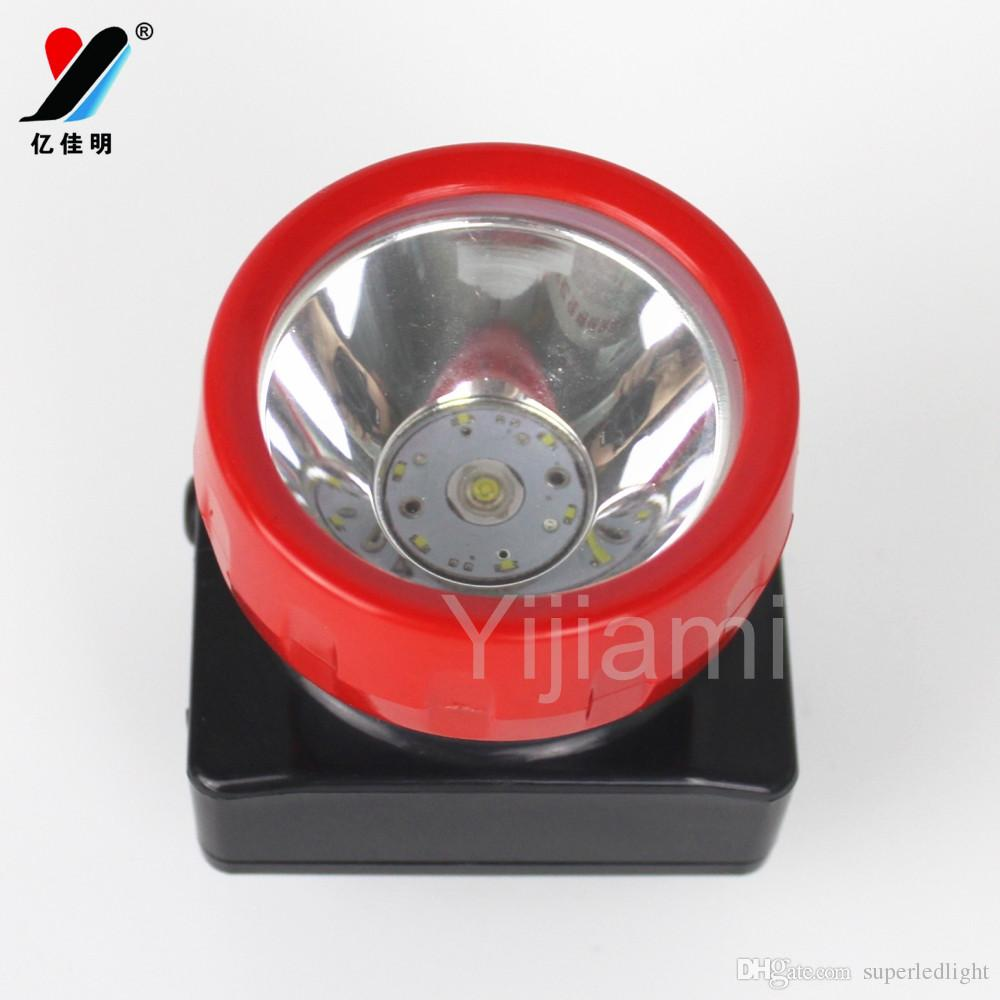 Miner Headlamp 5W 6+1 LED Li-ion Coreless Mining Helmet light Camping lamp Rechargeable Outdoor headlamp Flashlight YJM-4625
