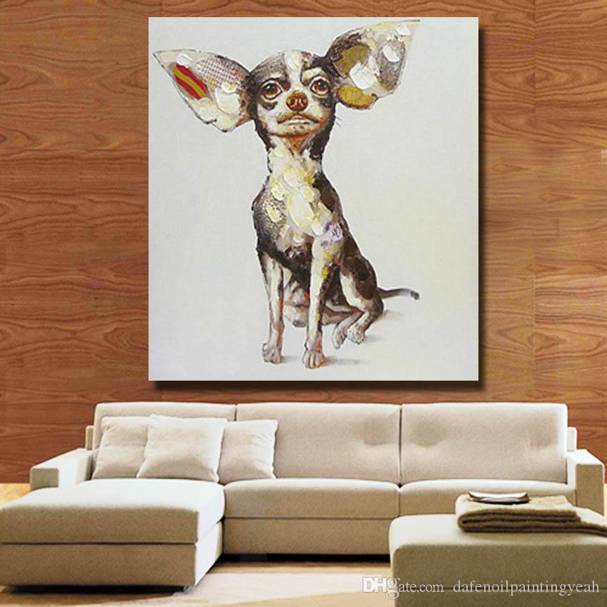 Китайская картина маслом животных фотографии современный холст стены искусства домашнего декора гостиной стены картины 1 Peices поп-арт не обрамлена