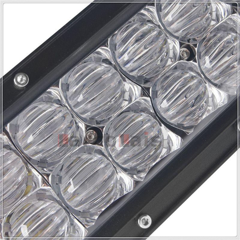 32 pulgadas 300W 5D curvado CREE LED barra ligera del trabajo para el barco del tractor OffRoad 4WD 4x4 camión SUV ATV Spot Flood Combo viga 12V 24v