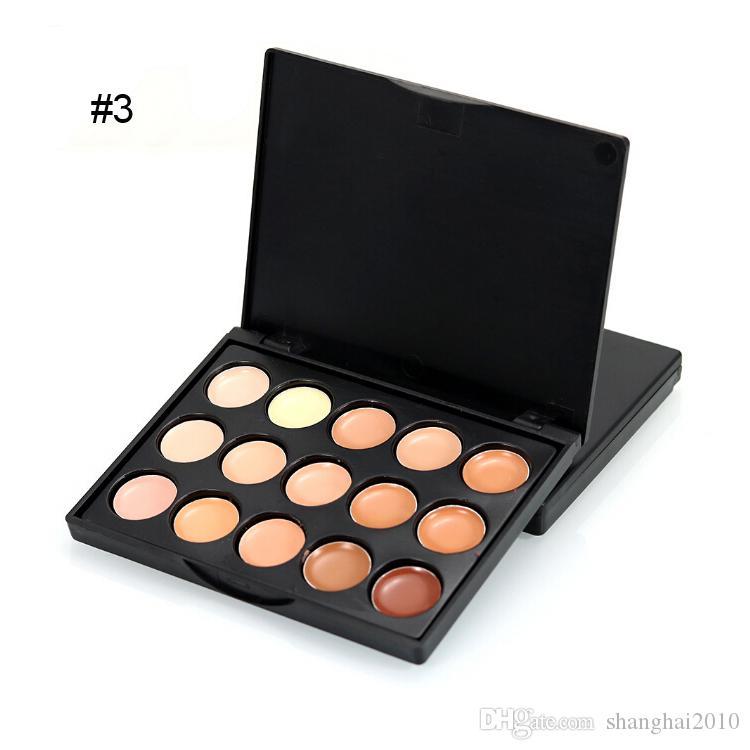 Макияж лица корректор профессиональный мини 15 цвет маскирующее platte нет коробки без логотипа 100шт