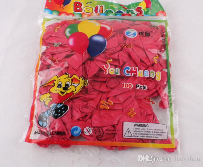 10'' 1.8g Colorful Pear Balloon Latex Thicken For Birthday Wedding Party Home Decoration Kids Toyer