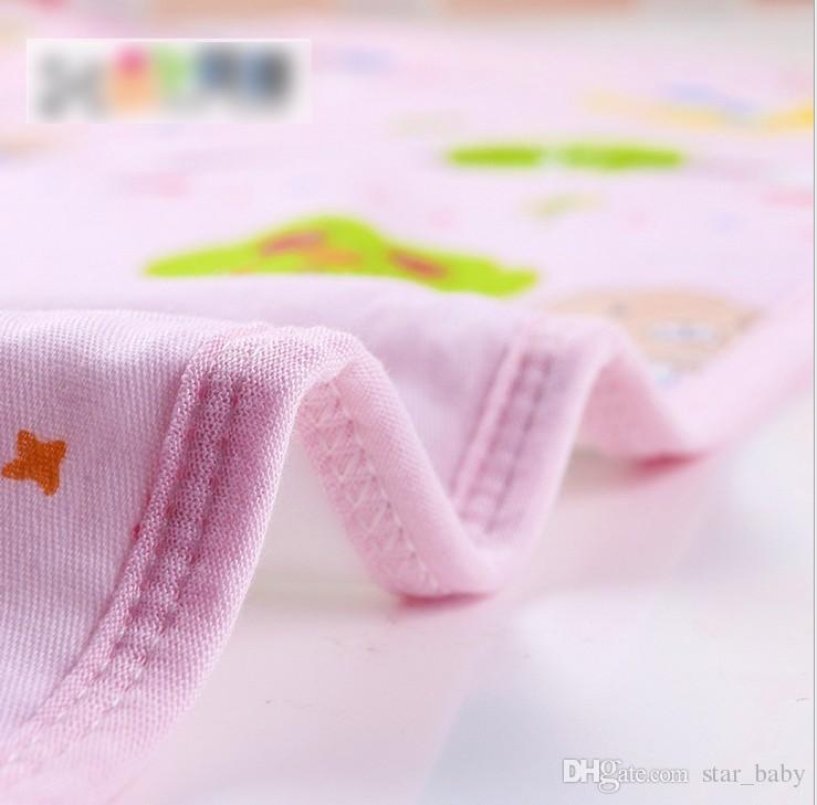 DHL EMS S-M-L-XL 핑크 노란색 블루 코 튼 방수 아기 유아 침구 변경 패드 휴대용 소변 매트 기저귀 커버 패드 K7068