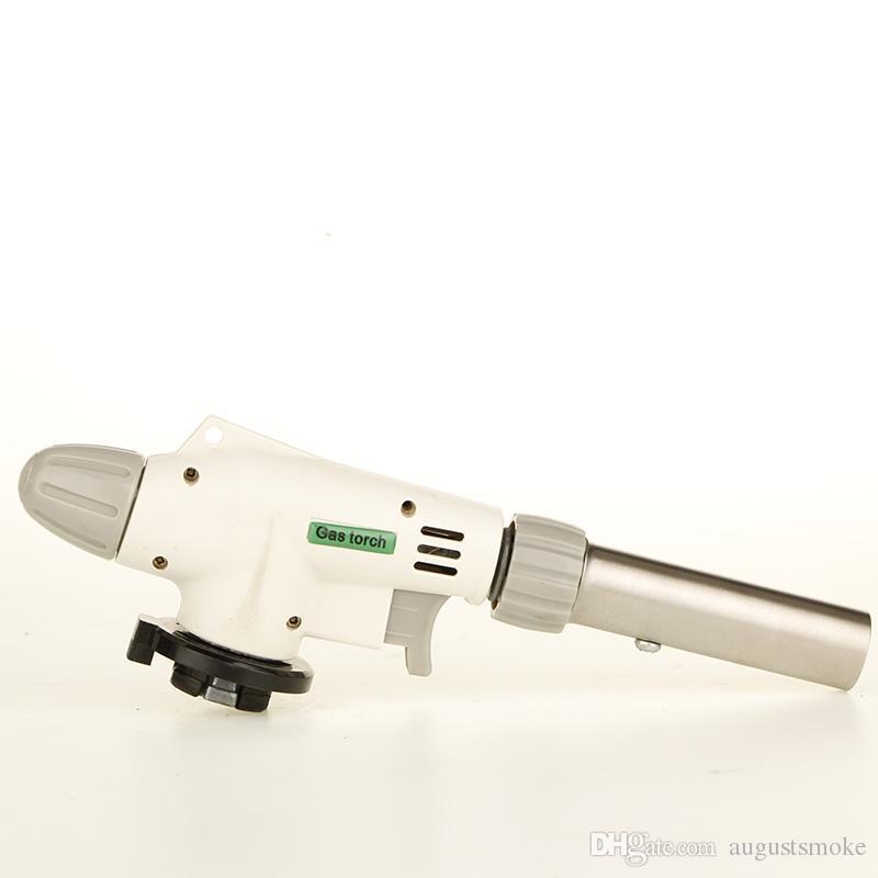 2015 hot Gas lighter Torch lighters Flame Gun lighter Welding Solder Blow Jet Burner Burning gas Iron Lighter Auto Ignition Heating BB