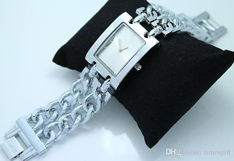Браслет из нержавеющей стали GS наручные часы Топ роскошные женские часы известный бренд леди платье часы высокое качество подарки