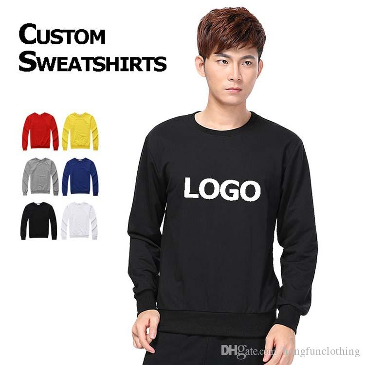 34fc0597e 2019 Ciustom Made Personalized Sweatshirt, Crew Neck Sweatshirt With Own  Logo Printed From Hongfunclothing, $12.19 | DHgate.Com