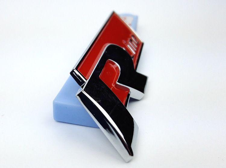 10 pz / lotto Alta qualità R linea Emblema distintivo VW Volkswagen Golf 6 Magotan nuovo Jetta 3D Metallo Auto Decalcomanie Adesivi adesivi Bumper