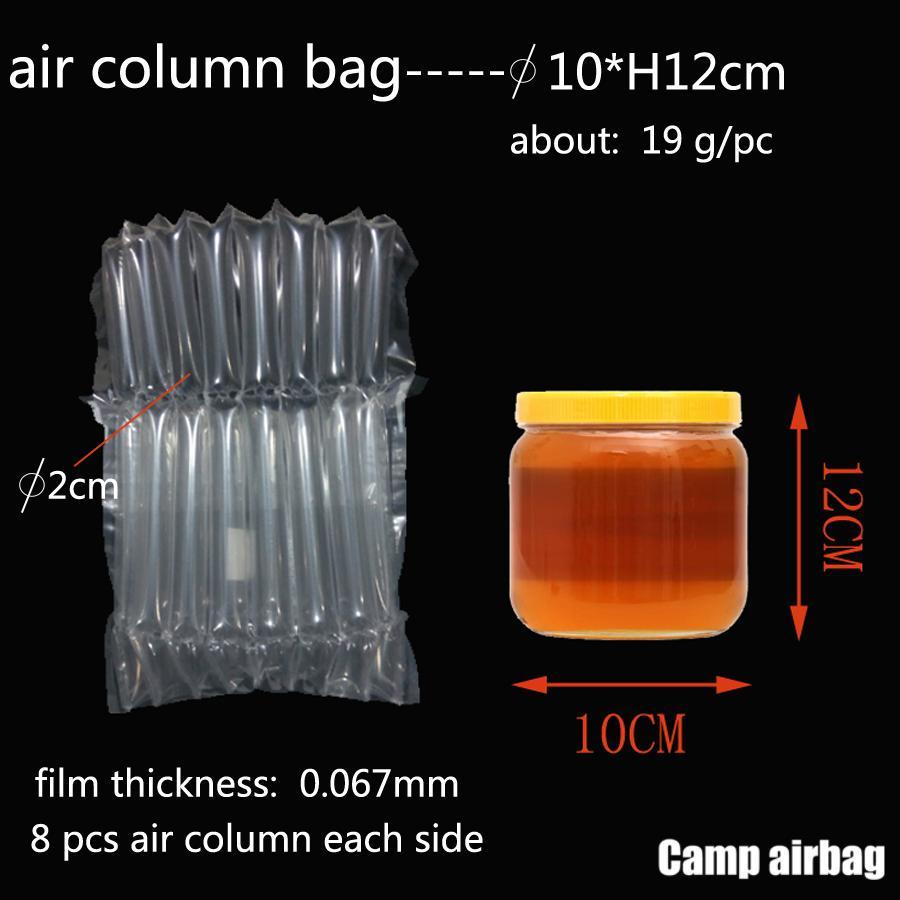 Aufblasbare Luftstausack Dia.10 * H12cm Air Cushion-Säule 3 cm Buffer-Tasche Schützen Sie Ihr Produkt Fragile Waren